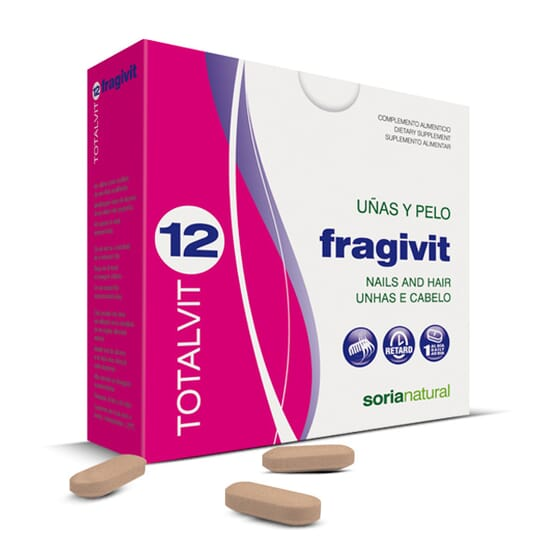 Totalvit 12 Fragivit 28 Tabs da Soria Natural