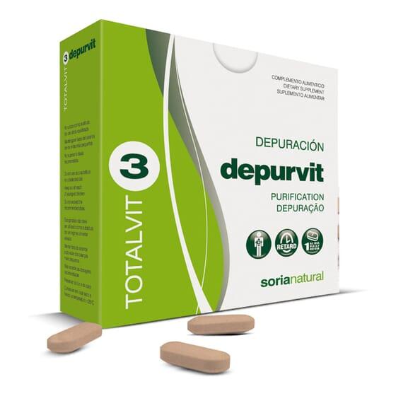 TOTALVIT 3 DEPURVIT 28 Tabs - SORIA NATURAL
