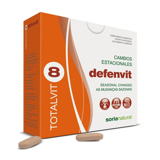 Totalvit 8 Defenvit 28 Tabs da Soria Natural