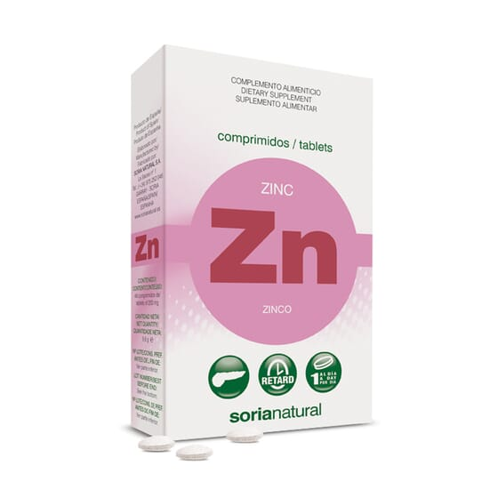 Zinco 48 Tabs da Soria Natural