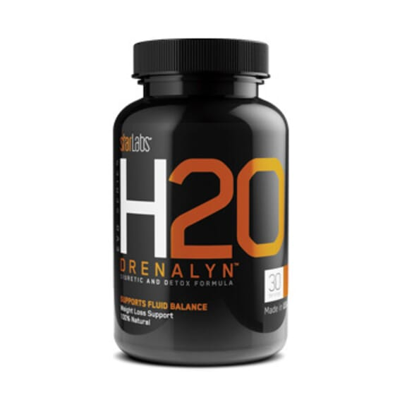H2O Drenalyn 60 Caps da Starlabs Nutrition