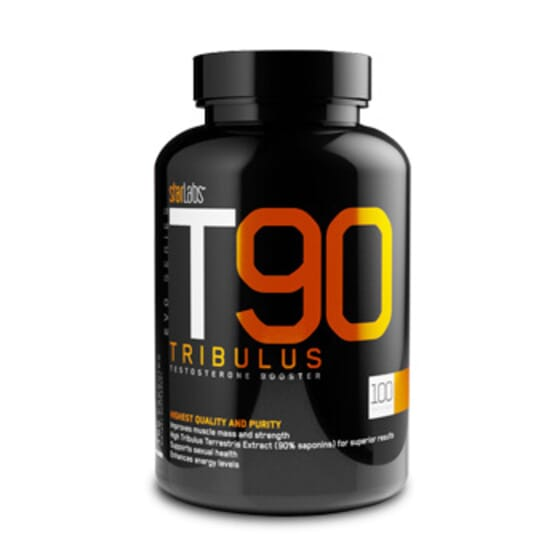 T90 Tribulus 100 Caps de Starlabs Nutrition
