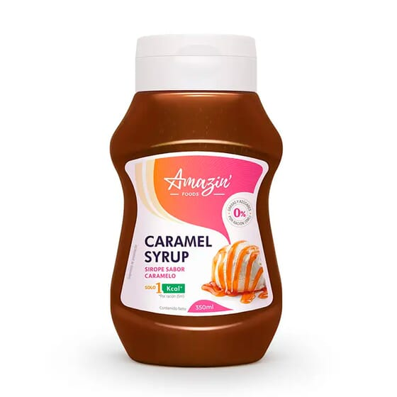 SIROPE DE DULCE DE LECHE 350ml de Amazin' Foods