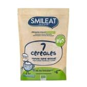 BOUILLIE BIOLOGIQUE 7 CÉRÉALES +6M 200 g de Smileat