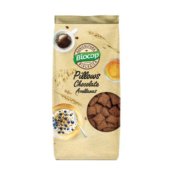Pillows Cacao Avellanas 300g de Biocop
