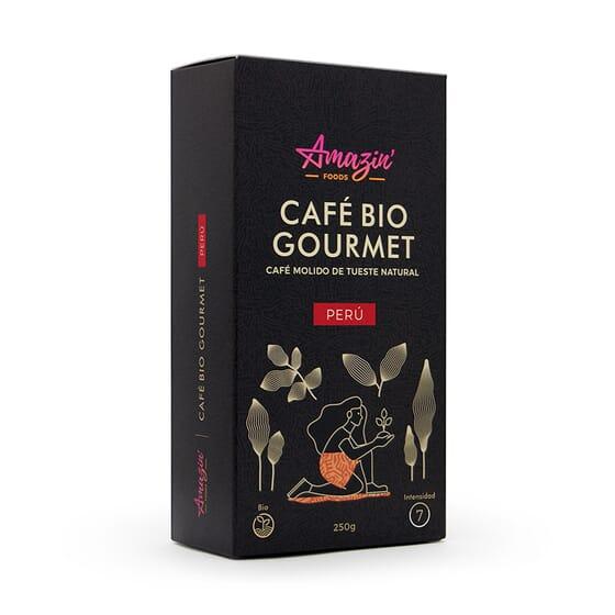 Café Bio Gourmet Peru Moído 250g da Amazin' Foods