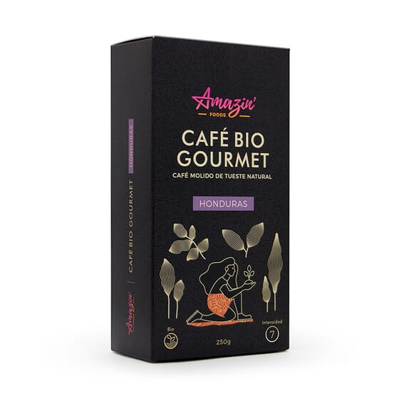 Café Bio Gourmet Honduras Moulu 250 g de Amazin'Foods