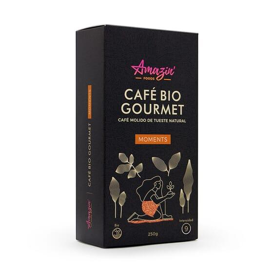 Café Bio Gourmet Moments Molido 250g de Amazin' Foods