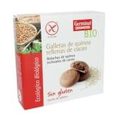 Galletas Quinoa Rellena de Cacao Sin Gluten 200g de Germinal Eco Bio