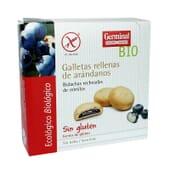 Galletas Rellenas de Arándanos Sin Gluten Bio 200g de Germinal Eco Bio