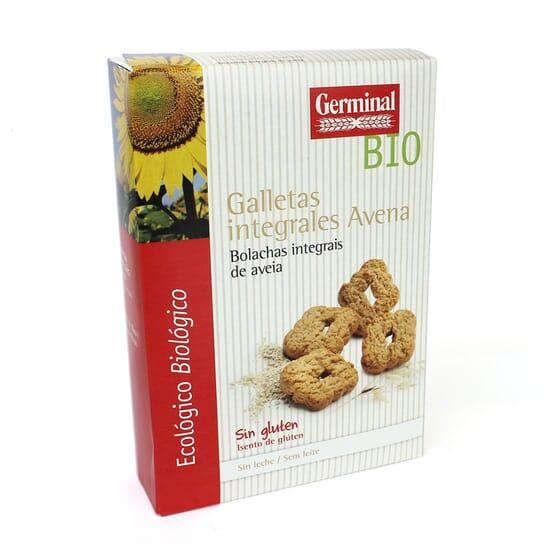 Galletas Integrales De Avena Sin Gluten Bio 250g de Germinal Eco Bio