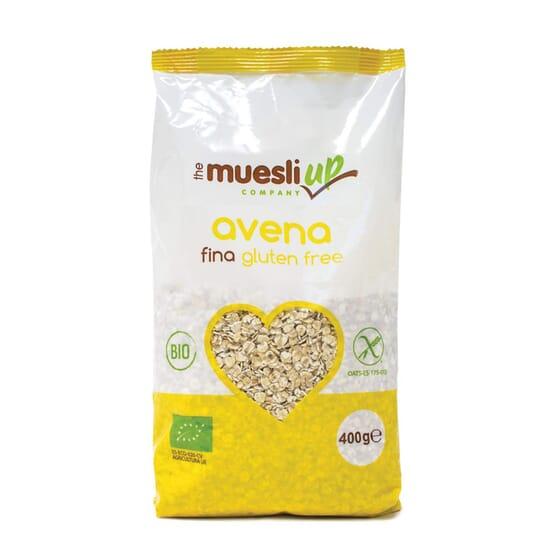 Copos De Avena Gruesos Sin Gluten Bio 400 g de The Muesli Up