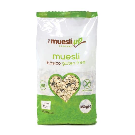 Muesli Basique sans Sucre sans Gluten Bio 350g de The Muesli Up