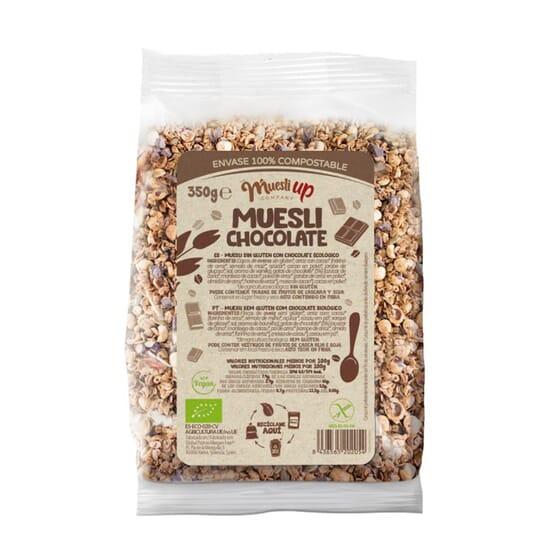 Muesli Con Chocolate Sin Gluten Bio 350 g de The Muesli Up