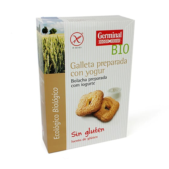 Galleta Preparada Con Yogur Sin Gluten 250 g de Germinal Eco Bio