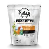 Grain Free Cão Adulto Raças Médias Frango 1.4 Kg da Nutro