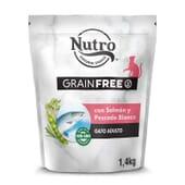 Grain Free Gato Adulto Salmón Y Pescado Blanco 1.4 Kg de Nutro