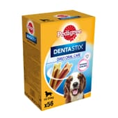Dentastix Multipack Perro Mediano 56 Uds de Pedigree