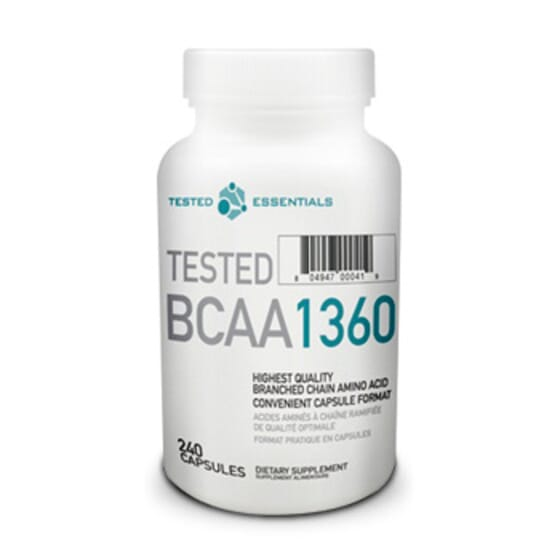 Tested Bcaa 1360 - 240 Caps da Tested Nutrition