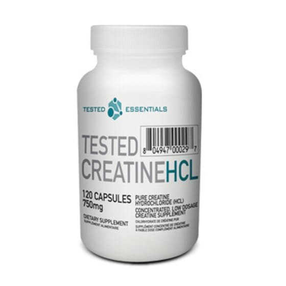 Tested Creatine Hcl - 120 Caps da Tested Nutrition