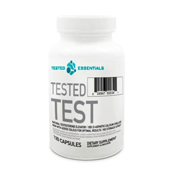 TESTED TEST 120 Caps - TESTED NUTRITION