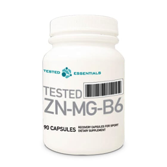 Tested Zn-Mg-B6 90 Caps de Tested Nutrition