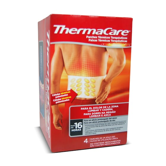 THERMACARE PATCH DOS 4 Unités - THERMACARE