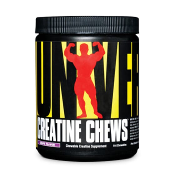 Creatina Chews 144 Tabs de Universal Nurition