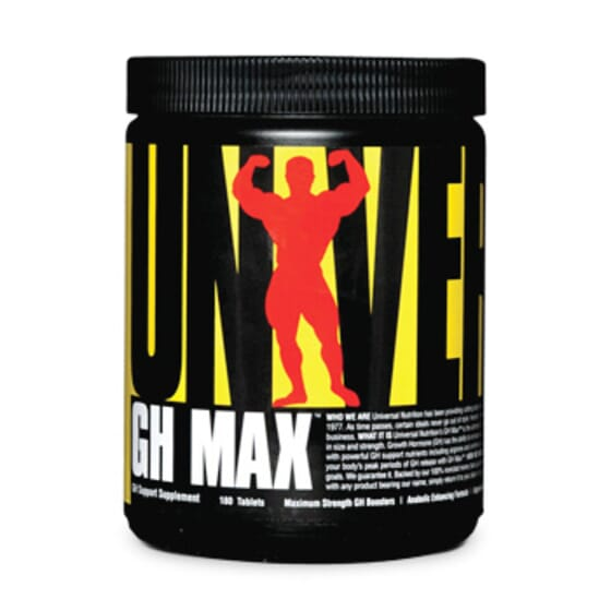 Gh Max 180 Tabs de Universal Nutriion
