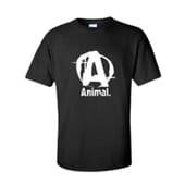 CAMISETA ANIMAL NEGRA - UNIVERSAL NUTRITION