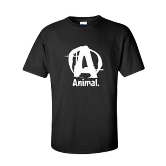 CAMISETA ANIMAL NEGRA - UNIVERSAL NUTRITION