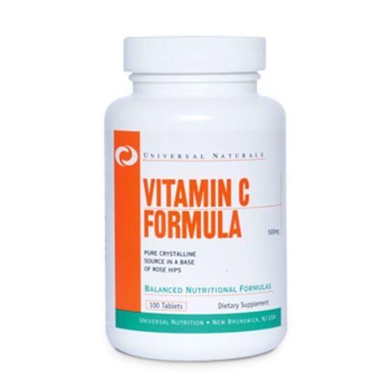 Vitamin C Fórmula 500mg 100 Tabs de Universal Nutrition