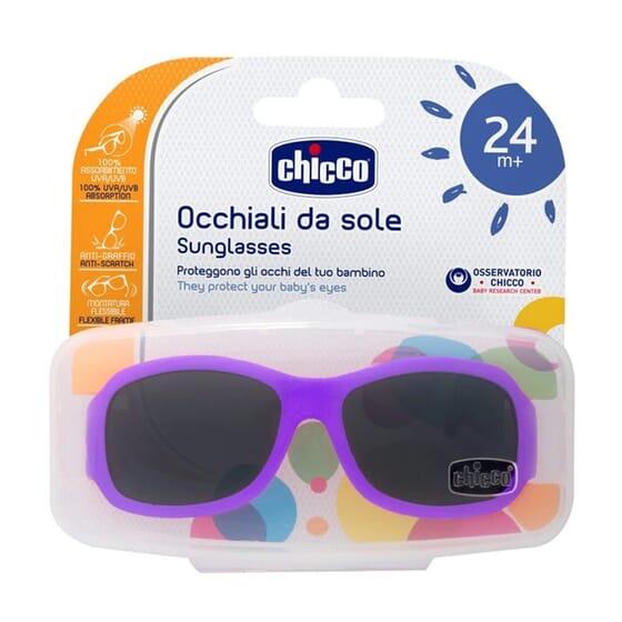 Chicco Lunettes De Soleil Violettes 24m+  de Chicco