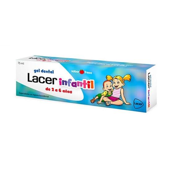 Gel Dentifrice Enfant 75 ml + Peluche Patrouille Canine 75 ml de Lacer