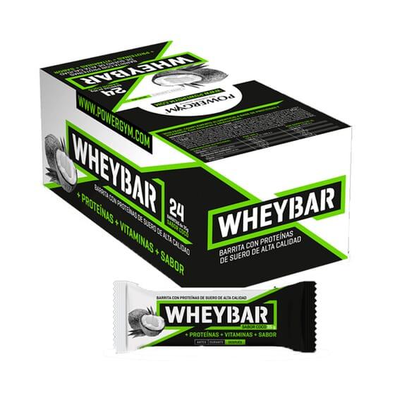 Whey Bar 24 x 35g de Powergym