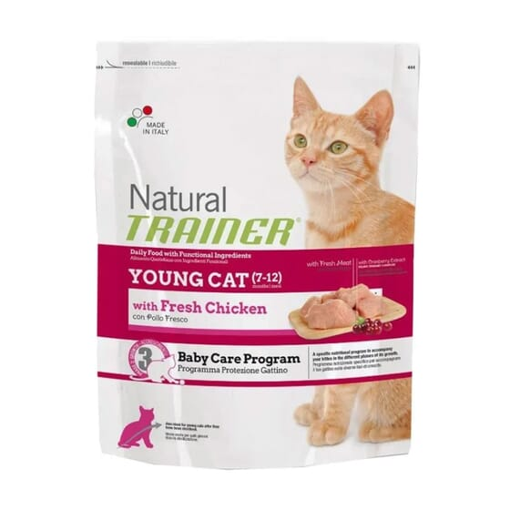 Natural Gato Young Frango  1.5 Kg de Trainer