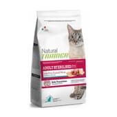 Natural Gato Adulto Esterilizado Presunto Curado 3 Kg da Trainer