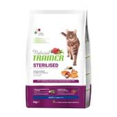 Natural Gato Adulto Esterilizado Salmão  3 Kg de Trainer