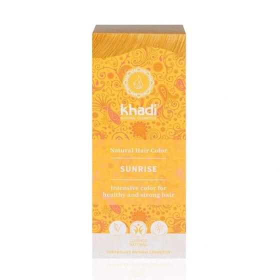 Coloration Végétale Blond Miel Sunrise 100g de Khadi