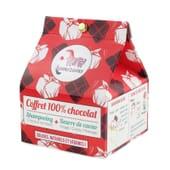 Champú Sólido Chocolate 55ml + Manteca Cacao Sólida 28ml de Lamazuna