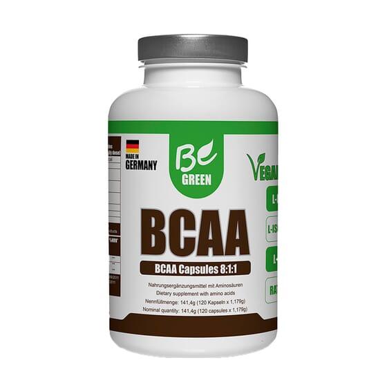 BCAA 8:1:1 120 Caps da Be Green