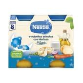 Légumes Selectas au Colin 2 x 200g de Nestle Naturnes