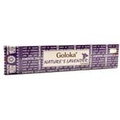 Incenso Nature's Lavender  15g da Goloka