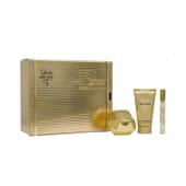 Lady Million Eau De Parfum + Body Lotion + Mini Vaporizador  de Paco Rabanne