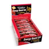 ENERGY BOOST GEL + CAFFEINE 24 x 42g - VICTORY ENDURANCE