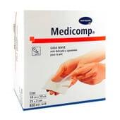 Medicomp Gaze Stérile Douce 25 Sachets 2 Unités de Hartmann