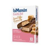 Be Slim Sabor Toffe Caramelo 10 Barras da Bimanán
