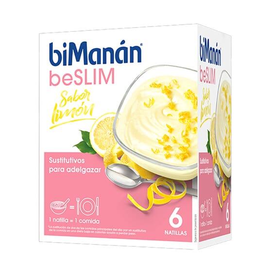 BeSlim Natillas De Limón 50g 6 Sobres de Bimanán