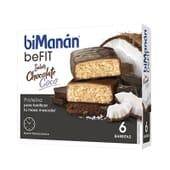 BeFit Barrette Cioccolato Cocco 27g 6 Barrette di Bimanán