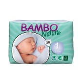 Fraldas 1 Recém-Nascido 2-4 Kg  28 Uds da Bambo